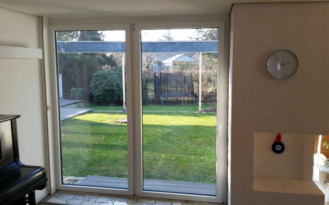 Terrassentür Drehkipp mit festem Seitenteil